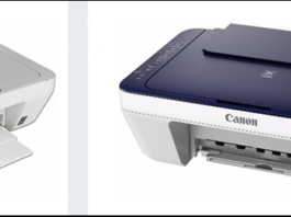 تعريف Canon MG2900