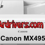 تعريف طابعة Canon MX495